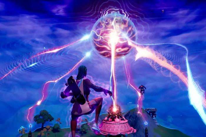 Fortnite The Device event. Image courtesy of The Verge.
