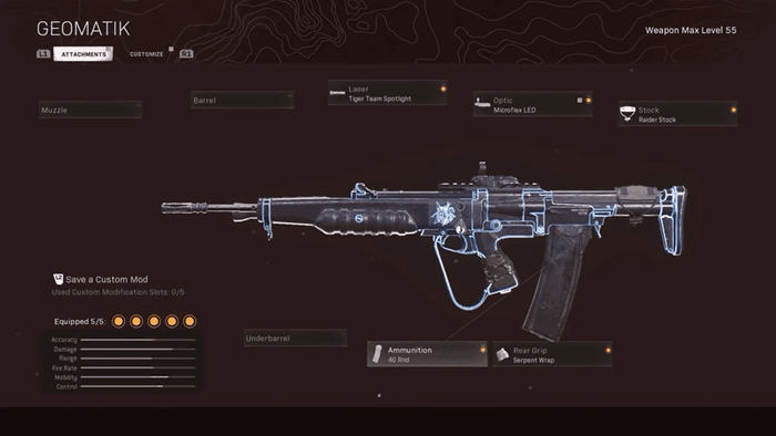 Everything in this loadout is written above.