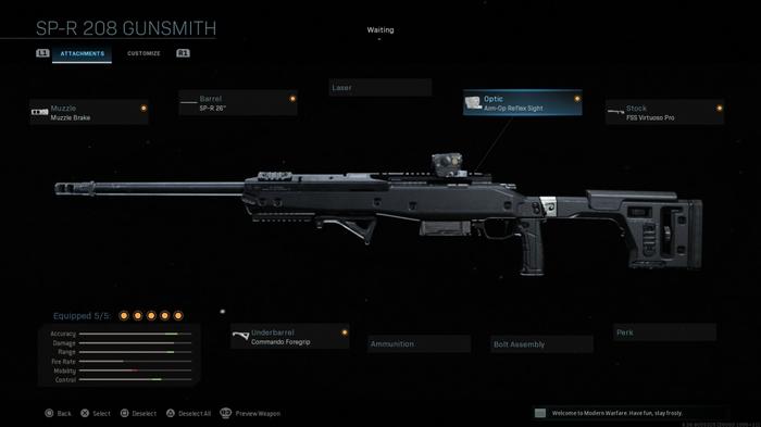 R700 Modern Warfare