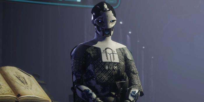 Image of Destiny 2 character ADA-1 in the Black Armory of the Tower