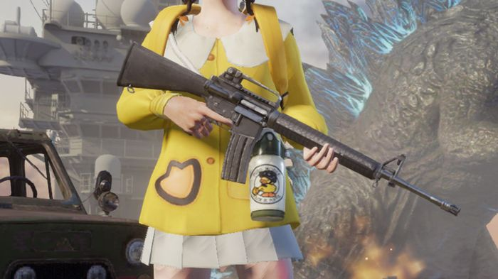 The M16A4 AR is one of the best PUBG Mobile Assault rifles.