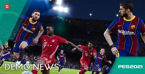 PES 2021 Won't Feature A Demo, But You Can Play Now