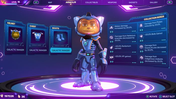 Ratchet and Clank Rift Apart Armour