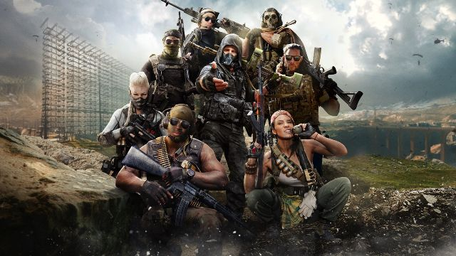 Warzone Operators Standing In A Group