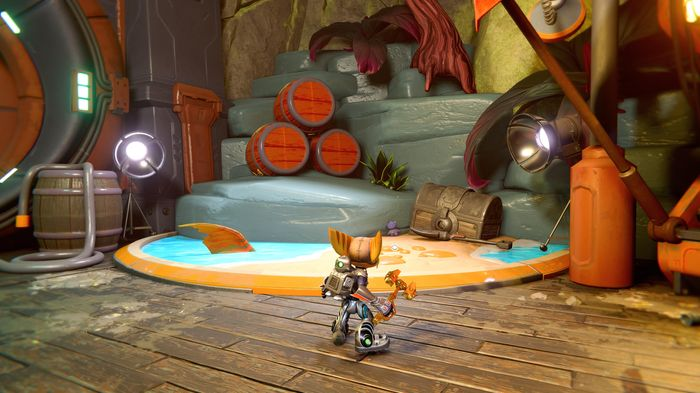 A screenshot of the CraiggerBear that can be found in the Pirate Base on Ardolis