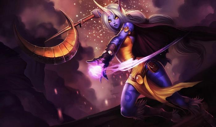 Soraka from League of Legends.