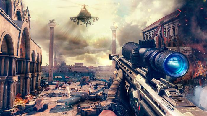 Screenshot from Modern Combat 5