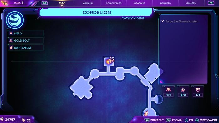 Ratchet and Clank Rift Apart Gold Bolt 19 Location