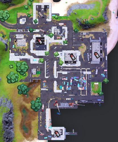 Spray can locations at Dirty Docks. Image via Fortnite.gg