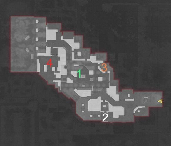The Pines Map Guide Black Ops Cold War