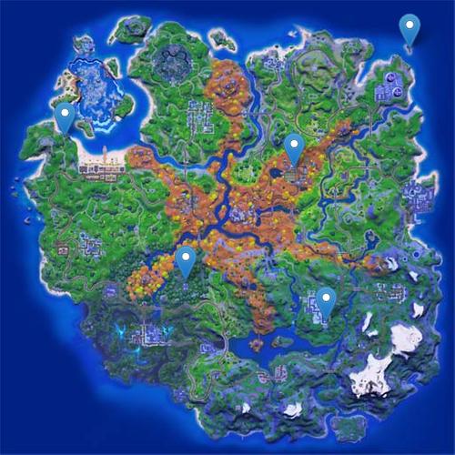 Fortnite rift NPC locations