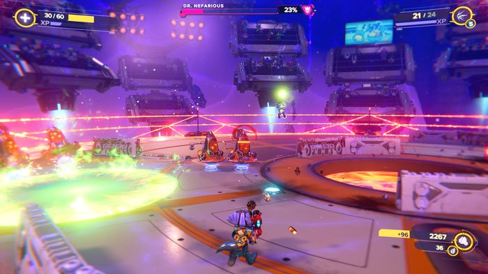 Ratchet and Clank Rift Apart Dr Nefarious boss fight minions