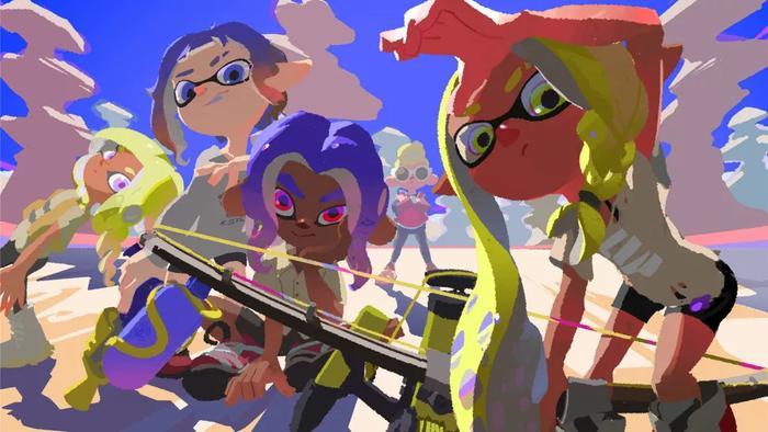 Splatoon 3 promo art