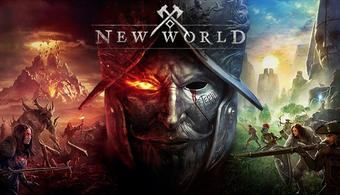 The logo for New World.