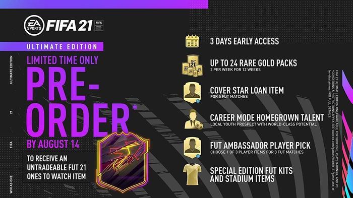 FIFA 21 PS5 Pre Order