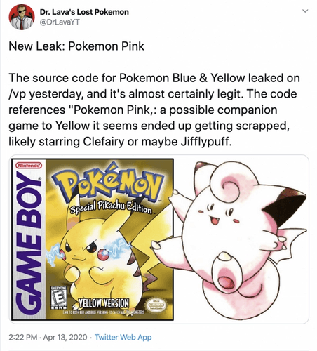 Could Clefairy or Jigglypuff have had the starring role?
