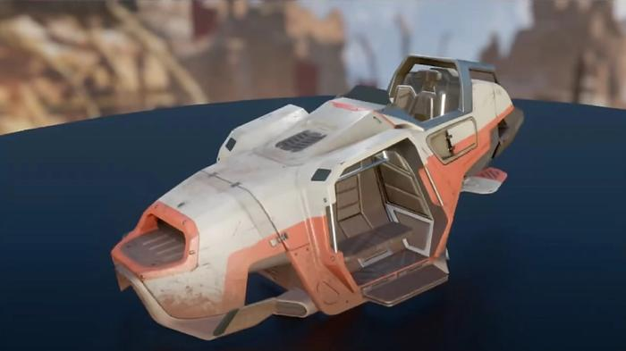 A muddy Trident in Apex Legends, which will be used in the new map.