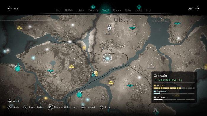 Assassin's Creed Valhalla Druids Legendary Boar Location