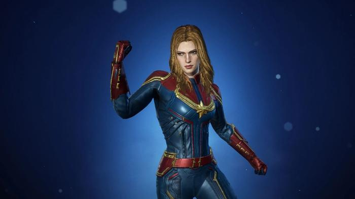 Captain Marvel in Marvel Future Revolution.
