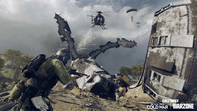 Warzone HARP Killstreak How To Get Season 4 Ground Fall