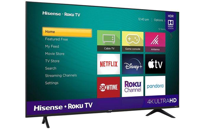 Best 4K TV for under 500 Hisense