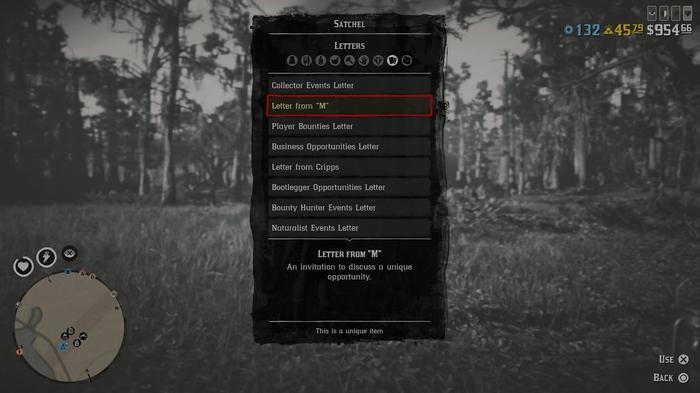 Red Dead Online Blood Money Update start letter