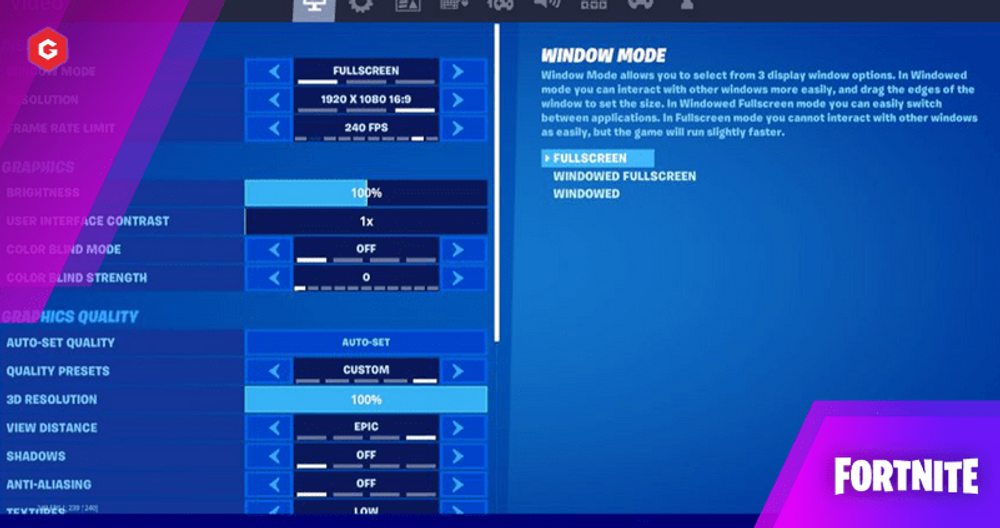 Fortnite Chapter 2 Season 5: Best Settings To Increase FPS and Performance