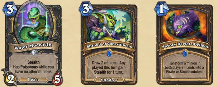 The new Rogue cards.