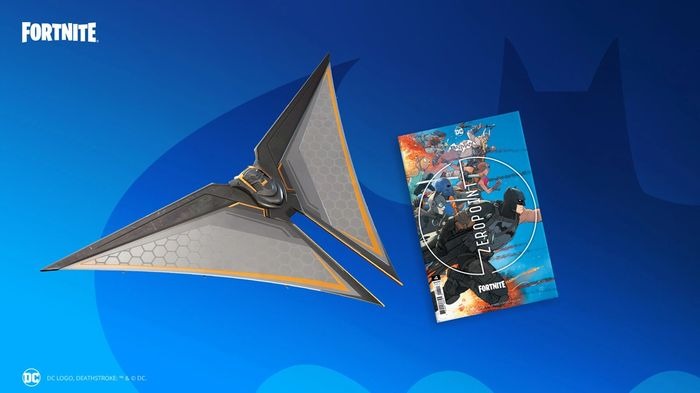 ZERO POINT: Players can get the Deathstroke Destroyer Glider from Batman/Fortnite #4