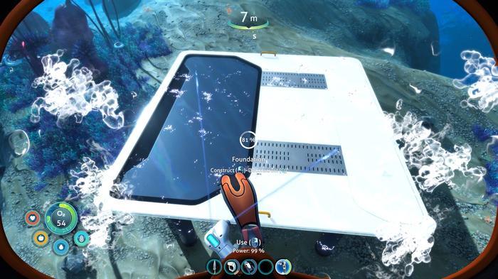 Subnautica Below Zero building base with habitat builder