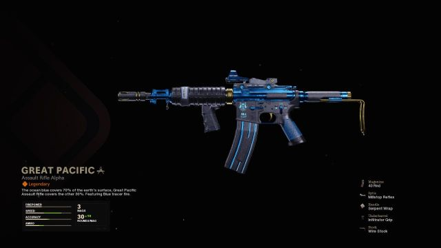 Great Pacific Warzone Blueprint How To Unlock Attachments Pay To Win