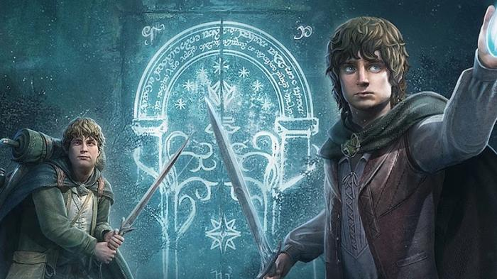 Screenshot of Frodo and Sam in The Lord of the Rings: Rise to War
