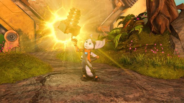 Ratchet and Clank Rift Apart Gold Bolt 4