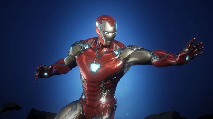 Iron Man in Marvel Future Revolution.