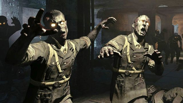 Two Zombies With Arms Out