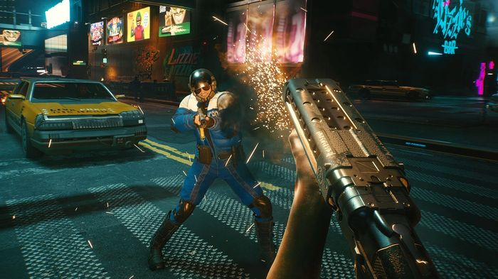 Cyberpunk 2077 Bullet Sponging