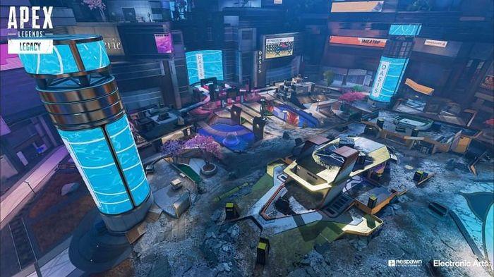 Apex Legends Party Crasher Arenas map
