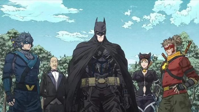 The studio behind the Tales of Luminaria anime made the Batman Ninja anime.