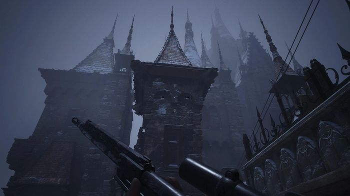 The Crystal Fragment on the Rooftops of Resident Evil Village