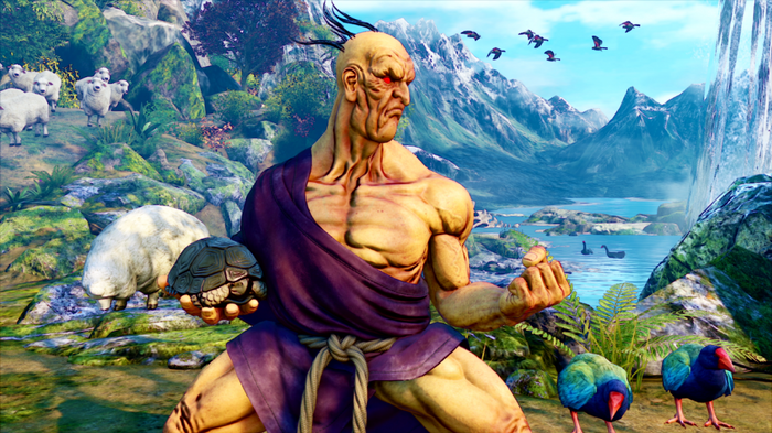 Oro from Street Fighter 5