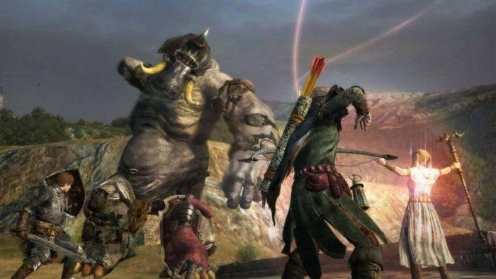 Screenshot of Dragon's Dogma pawn system