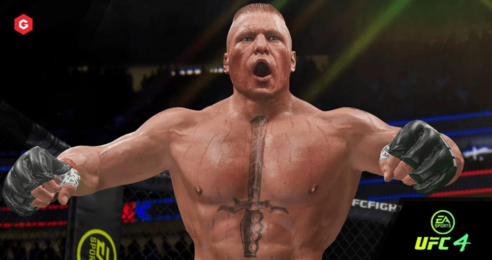 UFC 4 Patch Notes 4.0: Brock Lesnar, Askar Askarov and Jennifer Maia Join Roster, Plus Halloween Items