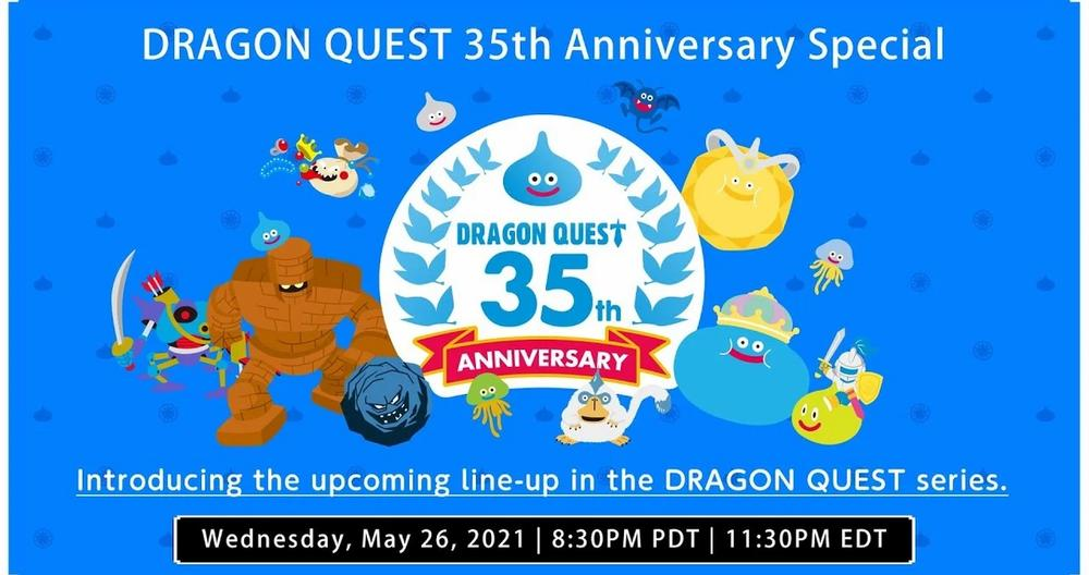 Dragon Quest 35th Anniversary Livestream Announced For May 26, Promises Info On New Games