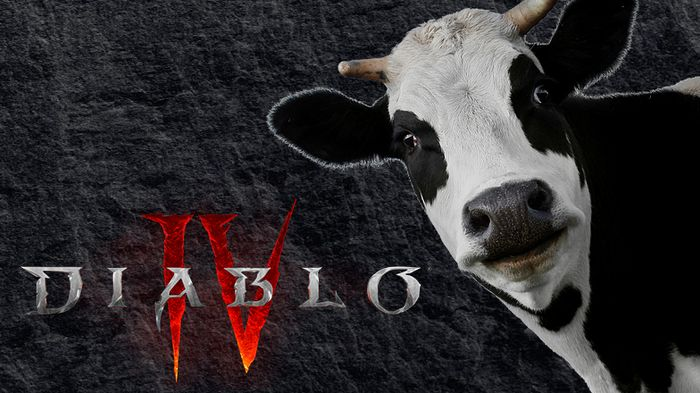 Diablo 4 Cow