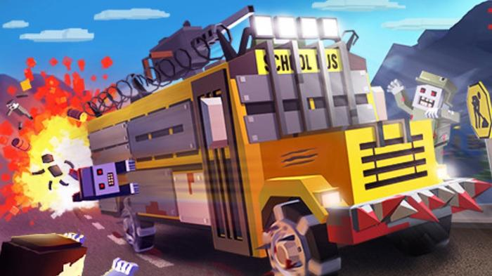 Zombie Derby: Pixel Survival is one of the best Android racing games around.