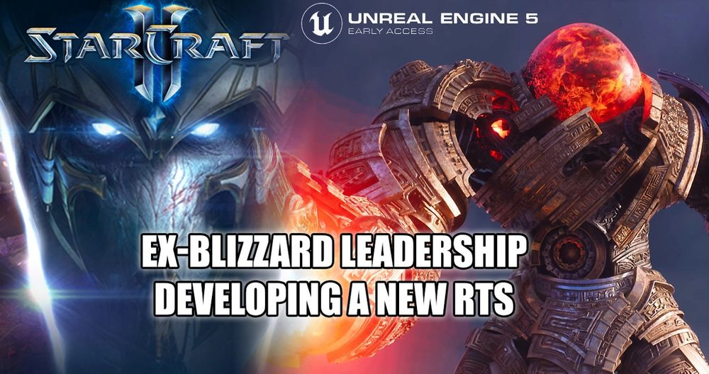 Former Blizzard Developers are making an RTS game using Unreal Engine 5