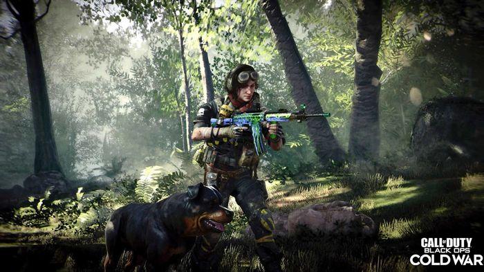 Samantha Maxis Operator Black Ops Cold War