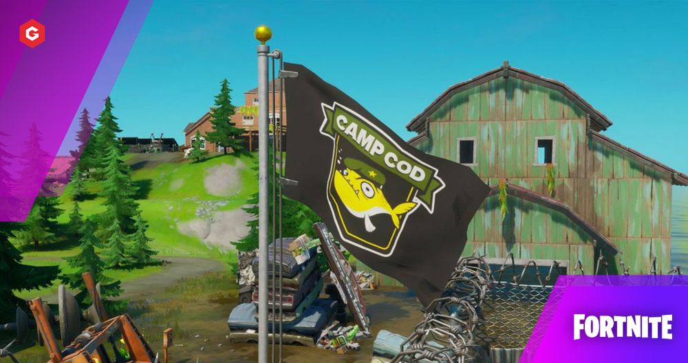 Fortnite: Where Is Camp Cod? Harvest 200 Metal At Camp Cod