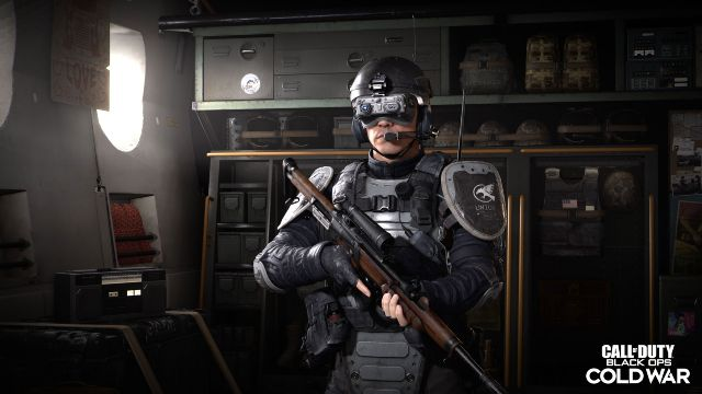 Stryker Warzone Operator Standing And Holding A Weapon
