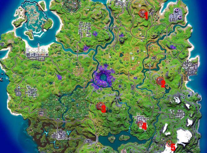 Fortnite wiretap locations